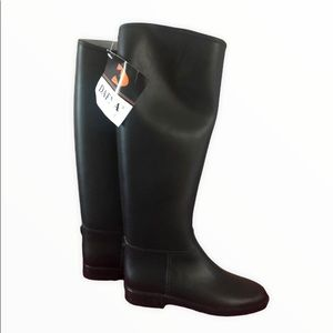 Dafna by Naot rubber riding boots NWT